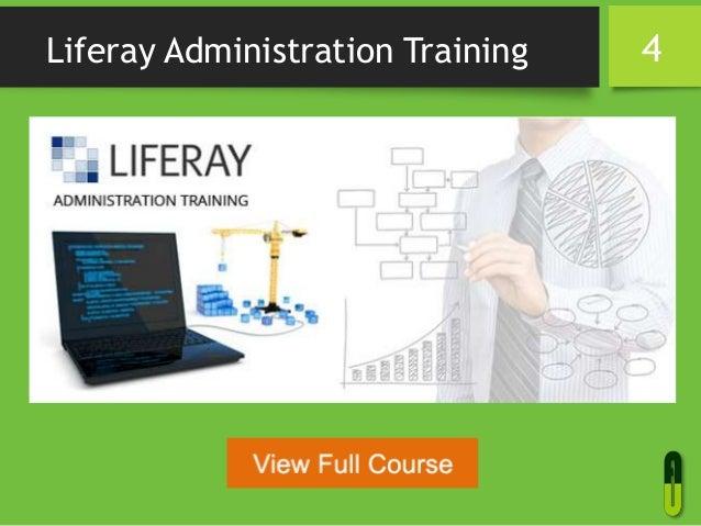 Liferay Administration Training 4