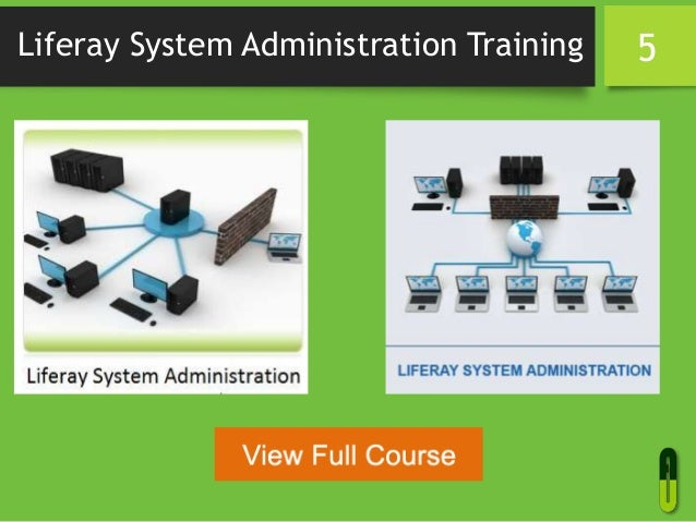 Liferay System Administration Training 5
