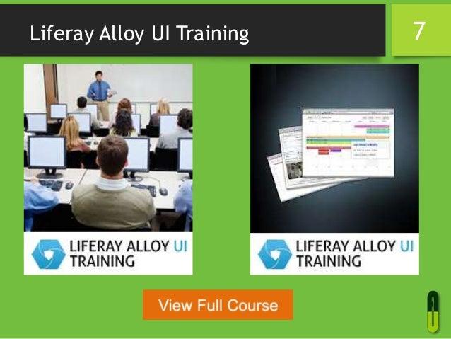 Liferay Alloy UI Training 7