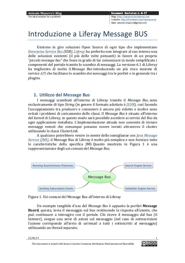 Antonio Musarras Blog  Document Revision:1.0-ITThe ideal solution for a problem  Blog: http://musarra....