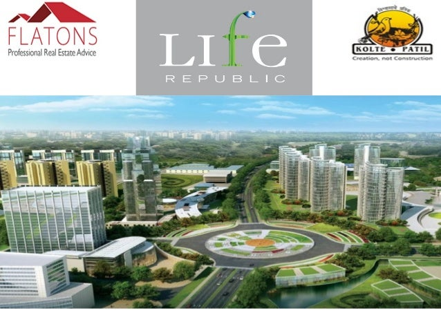About Life Republic:- 3.5 kilometres from Hinjewadi, the IT hub of Pune, Life Republic is a township being built of propos...
