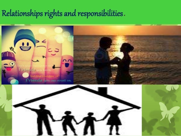 rights and responsibilities in a relationship