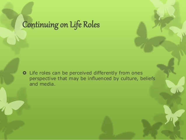 roles responsibility and relationship in life Mentoring is a relationship in which a more experienced person (the mentor) provides guidance, knowledge-sharing hqmc mentoring guide roles and responsibilities.