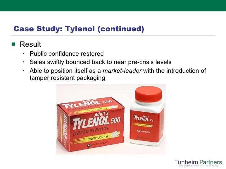 tylenol crisis case study