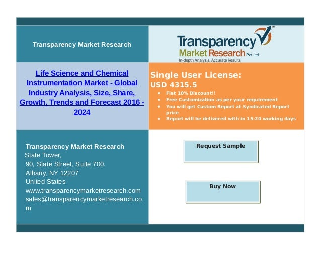 Transparency Market Research Life Science and Chemical Instrumentation Market - Global Industry Analysis, Size, Share, Gro...