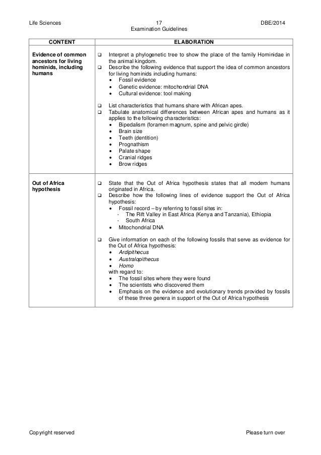 life sciences gr 12 exam guide 2014 eng rh slideshare net Exam Gradw Entrance Exam