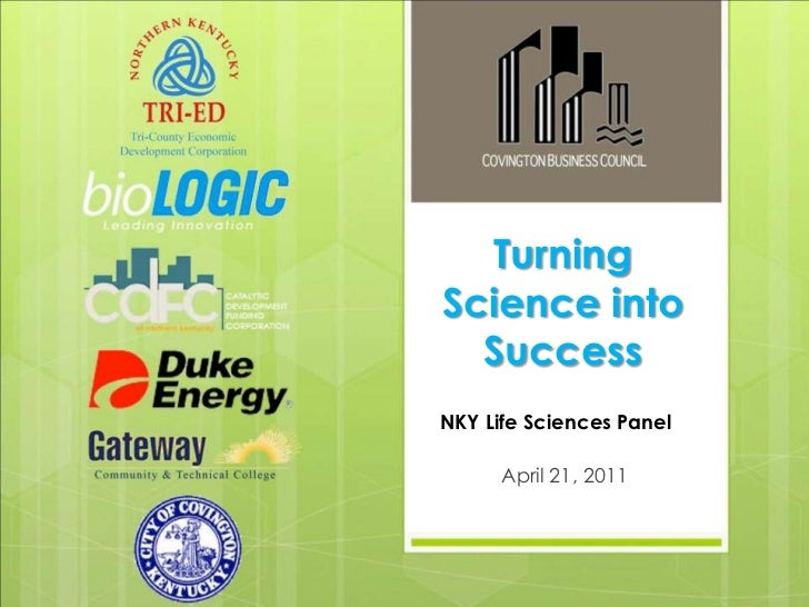 Growing the Life Science Industry 4/21/2011