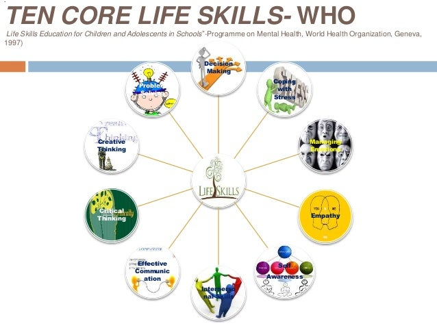 essay on life skills and core skills Strengthening life skills for youth: a practical guide to quality programming | iii   core life skills competencies are included and key stakeholders' needs are.