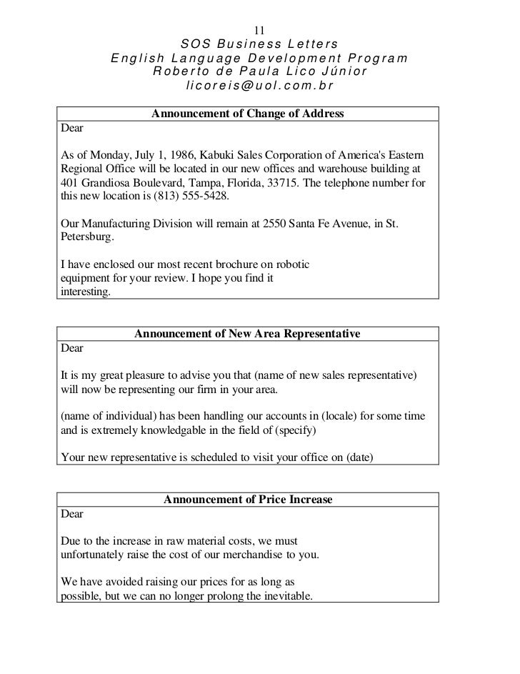 Life skills writing sos how to improve your business letter signature of client 11 11 sos business letters spiritdancerdesigns Images