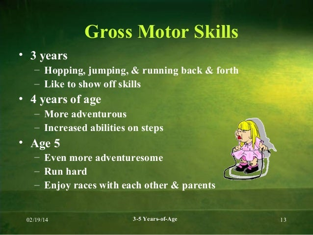 gross motor skills for 5 year olds On gross motor activities for 3 year olds