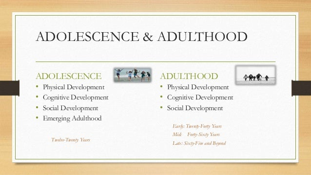 late adulthood developmental stages physical cognitive and socioemotional changes 2 chapter outline becoming an adult physical development in adulthood  jean piaget (1952) - in each stage of cognitive development, people think in a qualitatively different  what socioemotional changes take place in late adulthood.