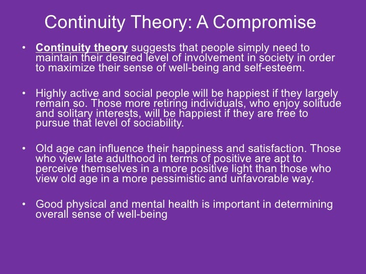 continuity hypothesis From the viewpoint of the continuity hypothesis, freud's dreams clearly reflect the main issues present in his life at that time, his profession and his development of a new treatment method.