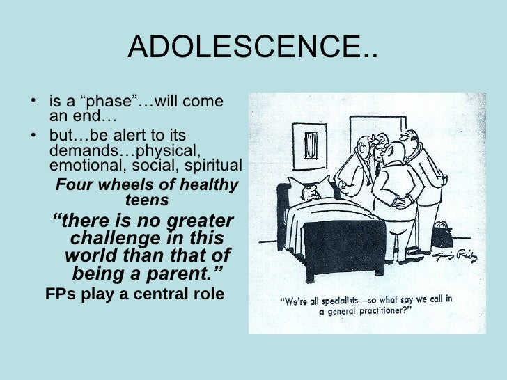 Adolescent Health Problems Amp Prevention