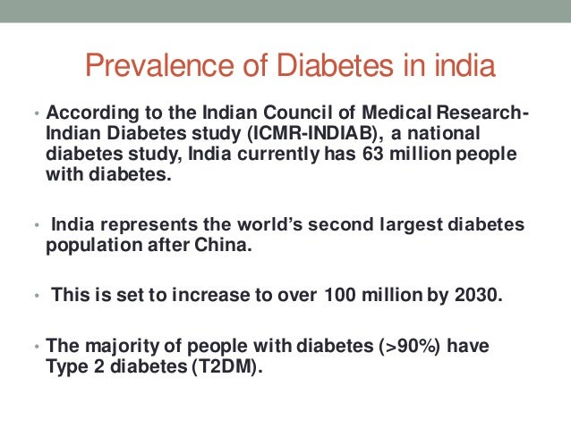 diabetes in india We're leading the fight against diabetes by helping people with diabetes live healthy lives while working to find a cure learn how to help people with diabetes live a healthier life.