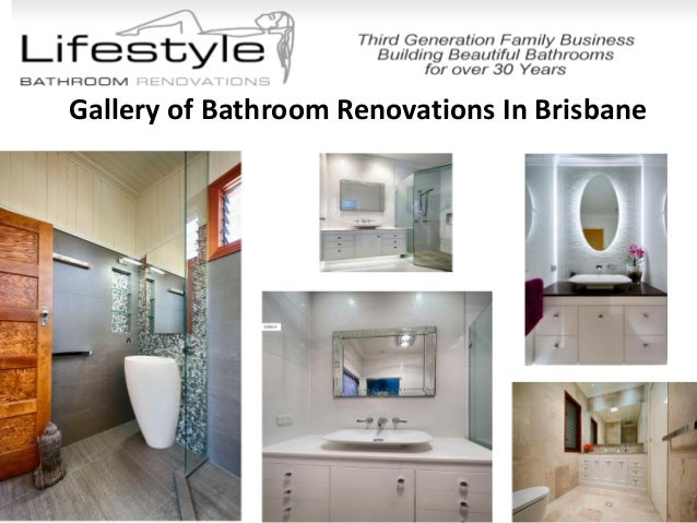 Lifestyle bathroom renovations present lavish bathroom for Queensland bathroom renovations