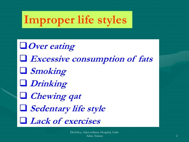 life style diseases These lifestyle diseases require a longer lifespan to cause death this means that the life expectancy of approximately 49 years in the 1900 was too short for the degenerative diseases to take place compared to the approximately 77 years life expectancy of 2004.