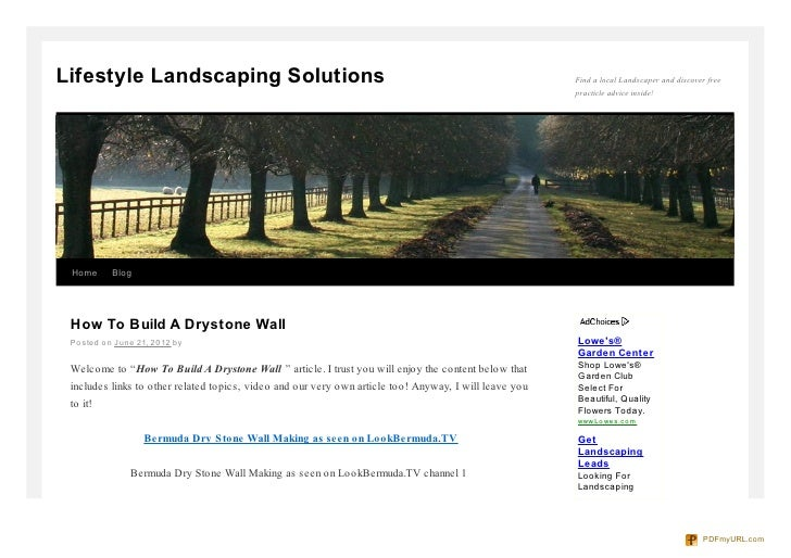 Lifestyle Landscaping Solutions                                                                         Find a local Lands...