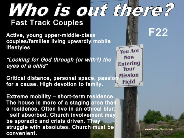 """Active, young upper-middle-class couples/families living upwardly mobile lifestyles """"Looking for God through (or with?) th..."""