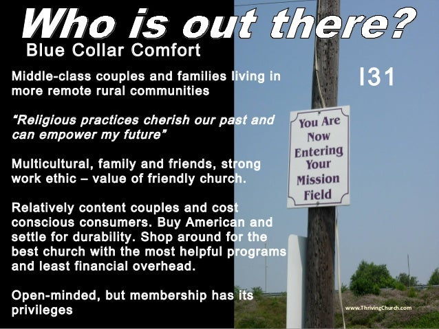 """Middle-class couples and families living in more remote rural communities """"Religious practices cherish our past and can em..."""