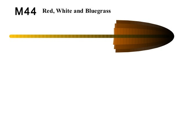 M44 Red, White and Bluegrass