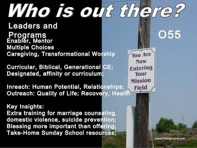 Enabler, Mentor Multiple Choices Caregiving, Transformational Worship Curricular, Biblical, Generational CE; Designated, a...