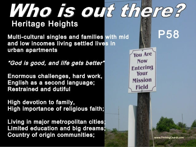 """Multi-cultural singles and families with mid and low incomes living settled lives in urban apartments """"God is good, and li..."""