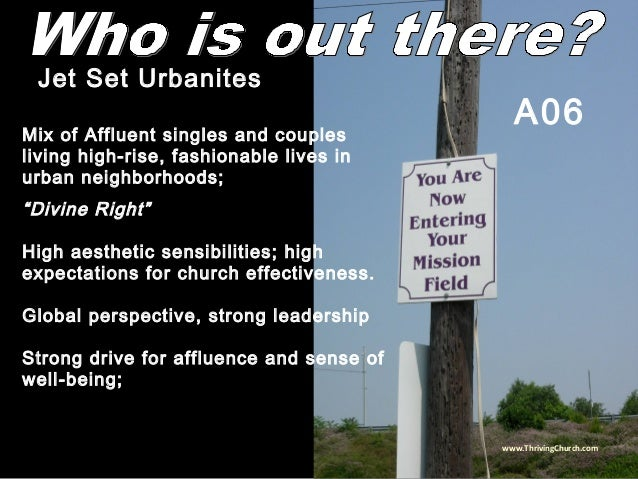 """Mix of Affluent singles and couples living high-rise, fashionable lives in urban neighborhoods; """"Divine Right"""" High aesthe..."""