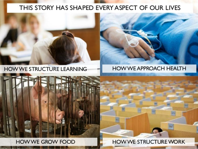 THIS STORY HAS SHAPED EVERY ASPECT OF OUR LIVES HOW WE STRUCTURE LEARNING HOW WE APPROACH HEALTH HOW WE GROW FOOD HOW WE S...