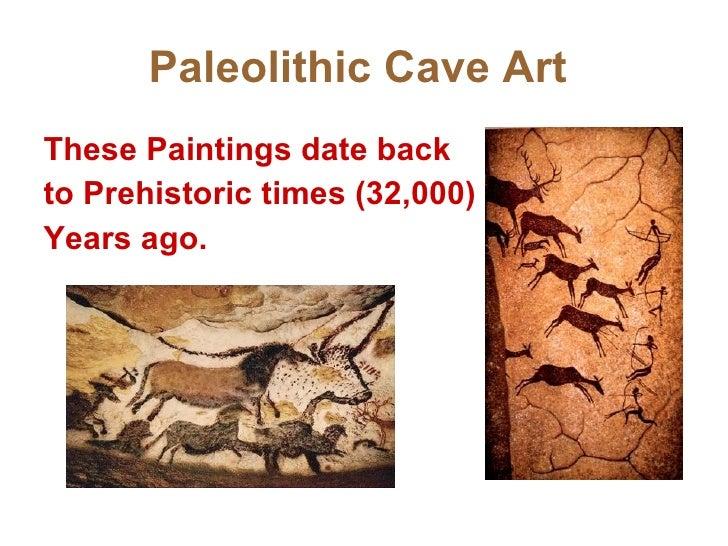 dating paleolithic art