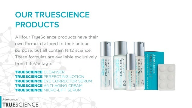 Truescience By Lifevantage Skincare System