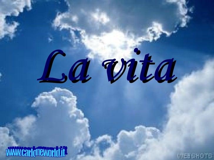 La vita www.carloneworld.it