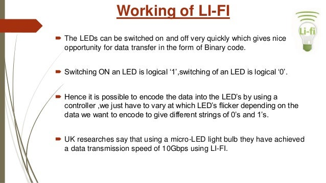 Li-Fi Technology PPT