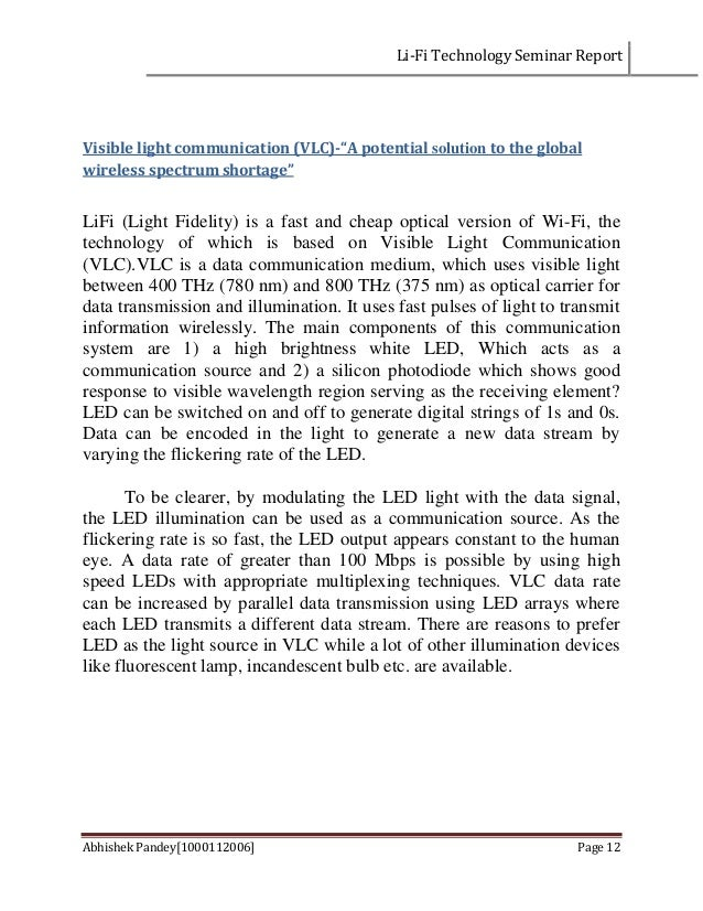 seminar report optical switching Posts about seminar report written by seminars4you get full report   seminar on trends in optical switching techniques, seminar report, seminar topics,.