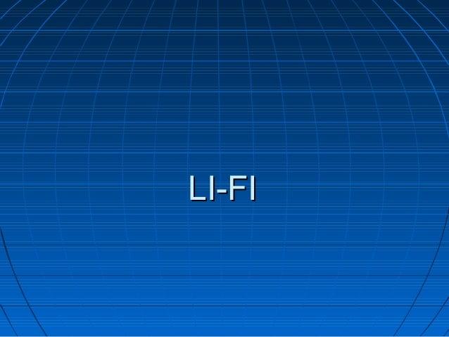 LI-FILI-FI