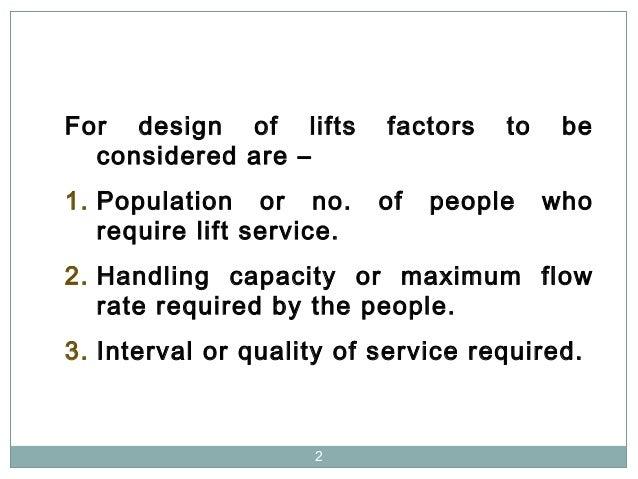 Lift  Design Slide 2