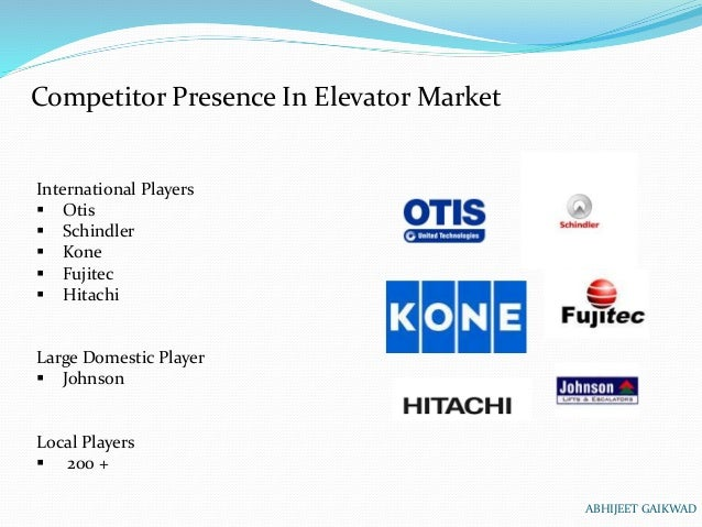 Swot Analysis Of Indian Elevators And Escalator Market