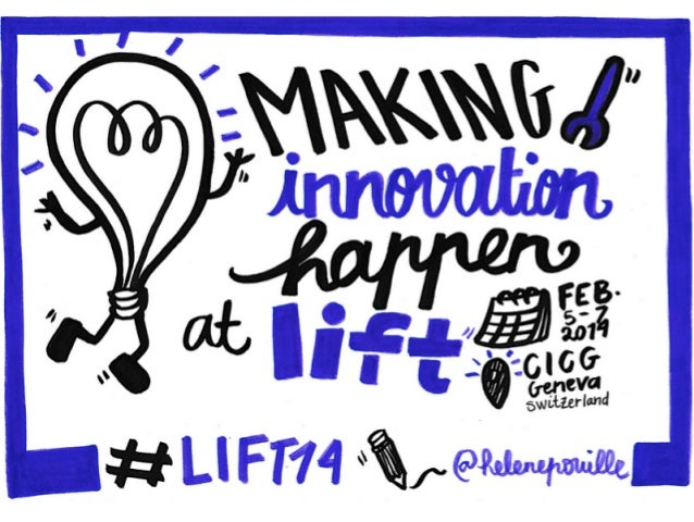 Making innovation happen at Lift Conference