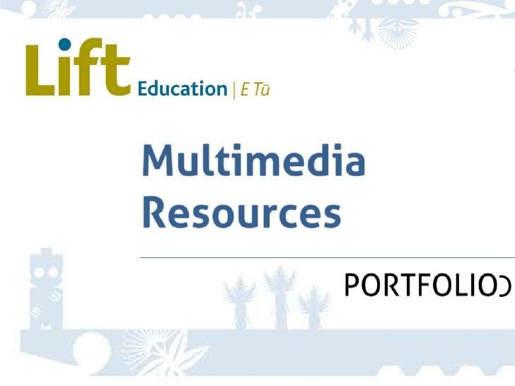 Multimedia Resources<br />