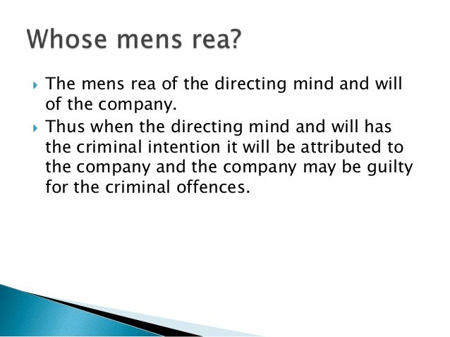 intention mens rea essays With the general agreement that mens rea is the 'mental element mens rea, that of intent and mens rea in reshaping the criminal law - essays in.