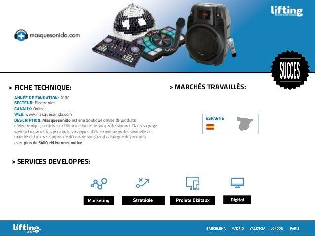 > MARCHÉS TRAVAILLÉS:> FICHE TECHNIQUE: > SERVICES DEVELOPPES: ANNÉE DE FONDATION: 2000 SECTEUR: Electronics CANAUX: Onlin...