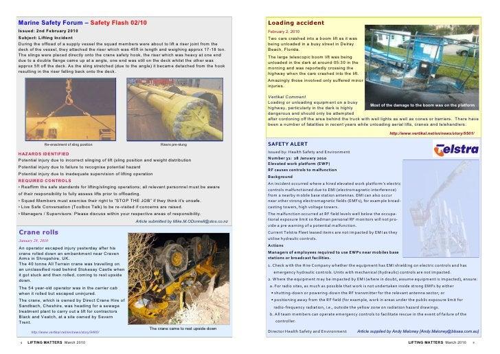 Marine Safety Forum – Safety Flash 02/10                                                                   Loading acciden...