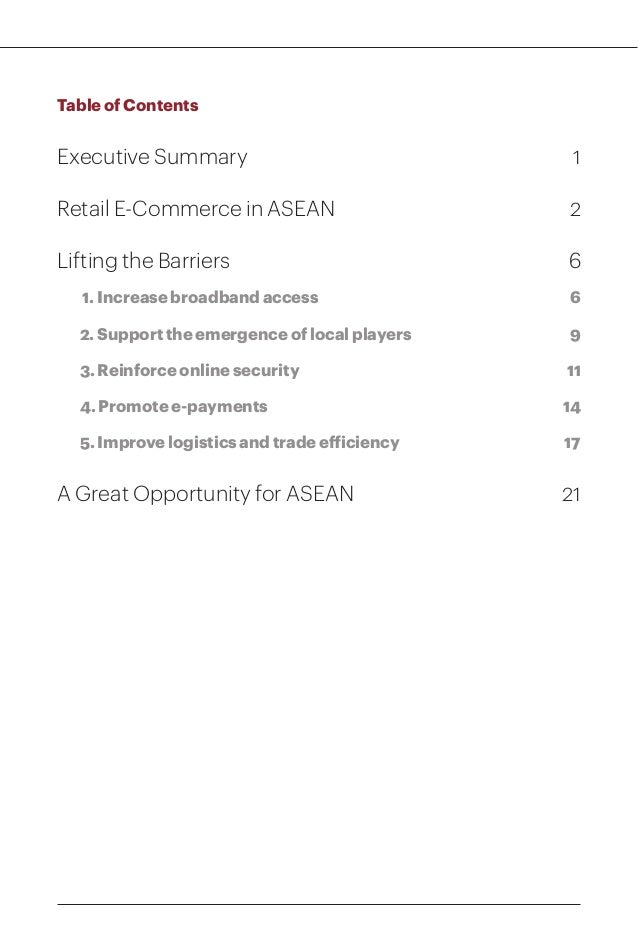 Lifting the Barriers to E-Commerce in ASEAN Slide 3