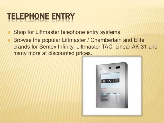 Liftmaster la500   liftmaster la400 - la412 liftmaster Slide 3