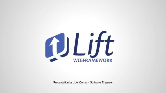 Presentation by Joel Correa - Software Engineer