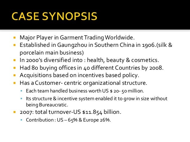 li fung growth for a supply chain specialist Li & fung growth for a supply chain specialist question 1 in light of the american recession, what can li & fung do to continue expanding its business and.