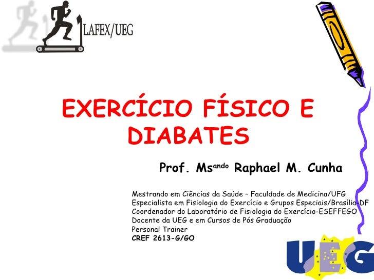 Exercícios Físicos no Diabetes Mellitus