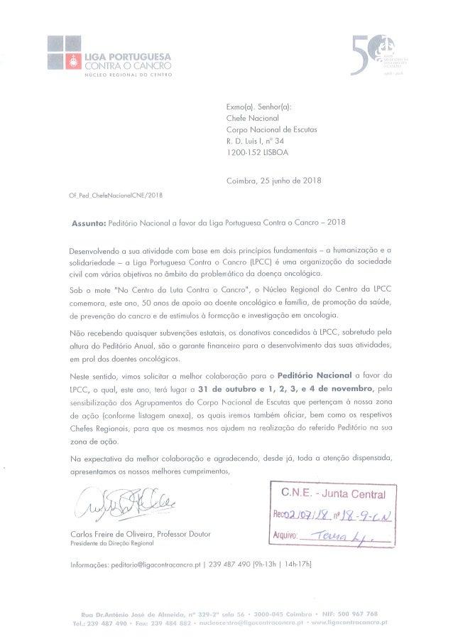 Liga Portuguesa Contra o Cancro 2018