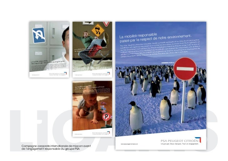 campagne corporate internationale