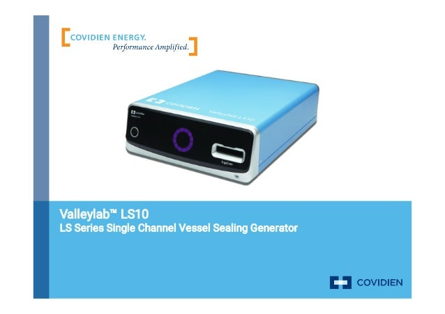 Valleylab™ LS10 LS Series Single Channel Vessel Sealing Generator