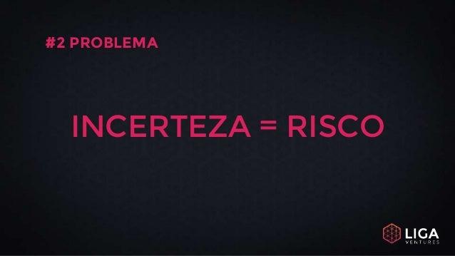 INCERTEZA = RISCO #2 PROBLEMA